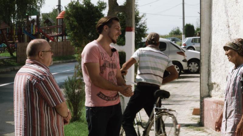 Sehnsucht nach einer unbekannten Heimat - Filmszene Weidenbach Haus