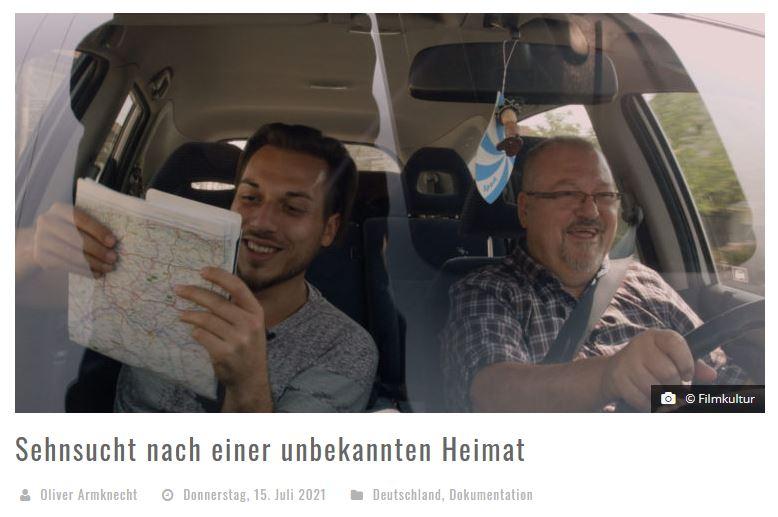 Sehnsucht nach einer unbekannten Heimat - Screenshot von film-rezensionen.de